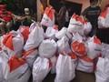 Ratusan Warga Kota Medan Berdesakan Daftar Bansos Kemensos