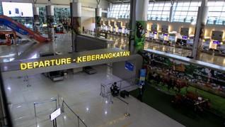 Bandara Juanda Alihkan Penerbangan Domestik ke Terminal I