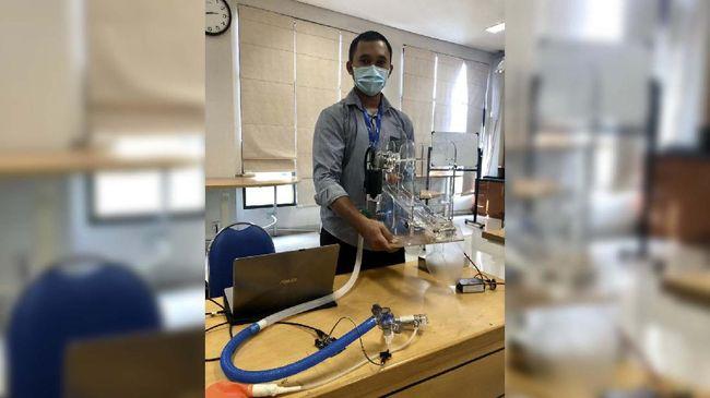 Ventilator portabel menjadi alat yang sangat dibutuhkan saat pandemi Corona di dunia.