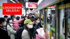 VIDEO: Lampu Warna-warni Rayakan Selesainya Lockdown Wuhan