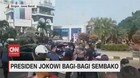 VIDEO: Presiden Jokowi Bagi-bagi Sembako
