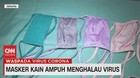 VIDEO: Masker Kain Ampuh Menghalau Virus