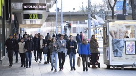 Ekonomi Swedia Jatuh, Meski Tak Terapkan Lockdown