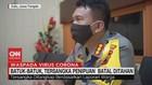 VIDEO: Batuk-Batuk, Tersangka Penipuan Batal Ditahan