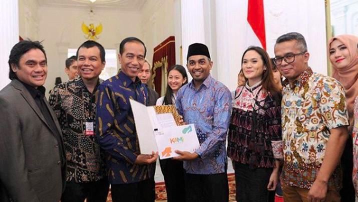 Belasungkawa Jokowi untuk Mendiang Glenn Fredly