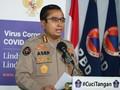 Polri 600 Ribu Kali Bubarkan Kerumunan selama Darurat Corona