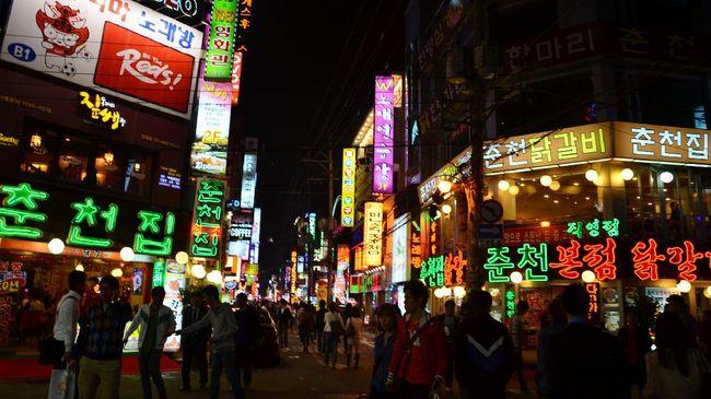Itaewon, Kawasan Kongko 'Melting Pot' di Korea Selatan