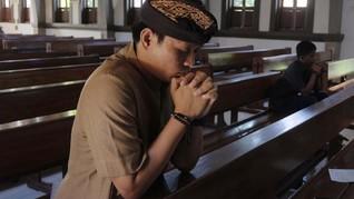 Gereja di Bali Gelar Ibadah Natal, Kapasitas Umat Dibatasi