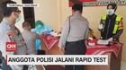 VIDEO: Anggota Polisi dan Jurnalis Jalani Rapid Test