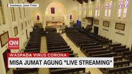 VIDEO: Misa Jumat Agung Live Streaming