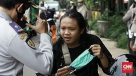 Tak Pakai Masker, Warga Bandung Bisa Didenda Rp100 Ribu