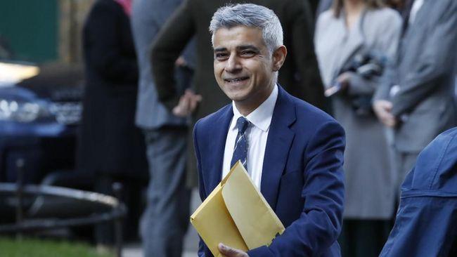 Sadiq Khan kembali memenangkan pemilihan sebagai walikota London, Inggris pada Sabtu (8/5).