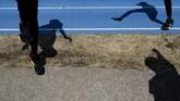 Atlet atletik Sudan memilih bertahan di Jepang untuk memanfaatkan fasilitas latihan yang bagus meski Olimpiade 2020 ditunda.