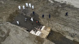 New York Makamkan Korban Corona di Pulau Jasad Tak Dikenal