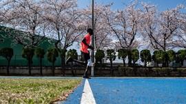 FOTO: Atlet Sudan Bertahan di Jepang Meski Olimpiade Ditunda