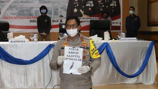 Polisi akan mengembangkan aksi vandalisme 'kill the rich' yang dilakukan kelompok anarko, di Kota Tangerang, ke daerah lainnya di Indonesia.