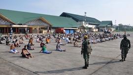 Ratusan Pekerja Migas LNG Teluk Bintuni Dikarantina di Ambon