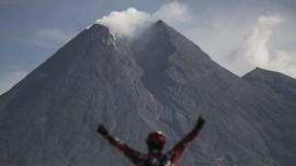 Gunung Merapi Gembung 0,5 cm per Hari Sejak Erupsi Terakhir