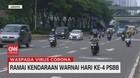 VIDEO: Ramai Kendaraan Warnai Hari Keempat PSBB di Jakarta