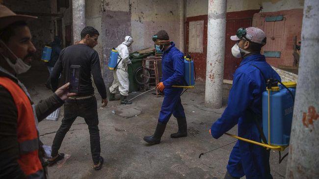 Maroko kembali memberlakukan lockdown di beberapa kota besar di negaranya untuk menahan lonjakan kasus Covid-19.