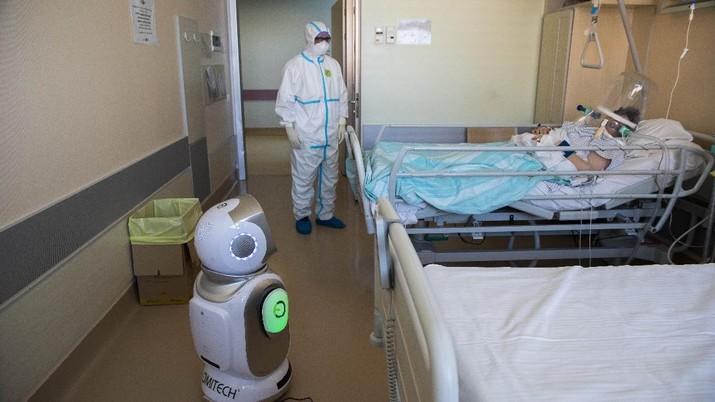 Canggih! Jepang Pakai Robot Buat Hibur Pasien Covid-19