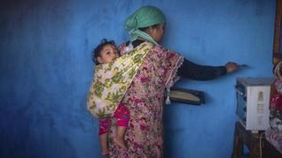 FOTO: Virus Corona Hantui Si Miskin di Maroko