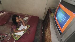 Guru Minta Program Belajar di Rumah Masuk TV Swasta