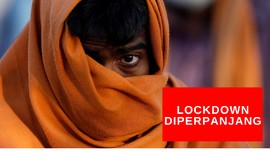 VIDEO: India Perpanjang Lockdown