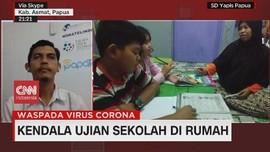VIDEO: Kendala Ujian Sekolah di Rumah