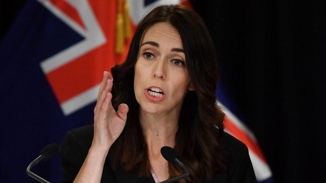 PM Selandia Baru, Jacinda Ardern, menyatakan lega atas vonis seumur terhadap terdakwa teror penembakan masjid, Brenton Harrison Tarrant.