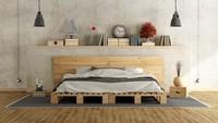 <p>Siapa sangka, palet kayu yang biasa digunakan untuk buah dan telur bisa disusun menjadi tempat tidur seperti ini. Menarik dan ekonomis ya, Bun. (Foto: iStock)</p>