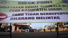 PSBB Kabupaten Bogor Diperpanjang, Jam Keramaian Dilonggarkan