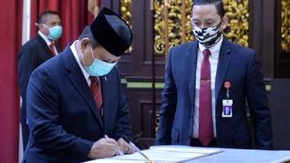 Prabowo Gandeng Perusahaan AS Kembangkan Nuklir di Indonesia