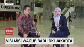 VIDEO: Visi Misi Wagub Baru DKI Jakarta, Riza Patria