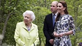 Ayah Pernah Positif Corona, William Khawatirkan Ratu Inggris