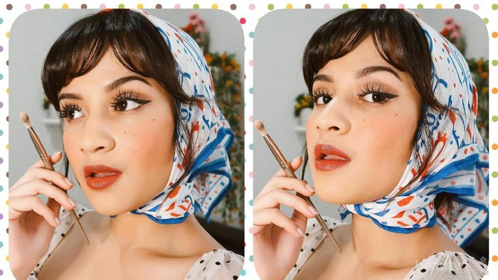 Tutorial Parisian Chic Makeup ala Beauty Influencer Amanda Shafira