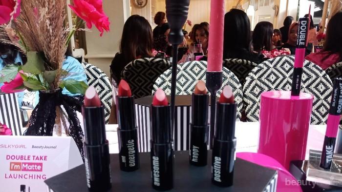 Review: 10 Warna Lipstik I'm Matte Lipcolor Silky Girl