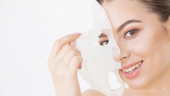 Gunakan Produk Sheet Mask Ini Untuk Menutrisi Wajah Saat Seharian di Rumah