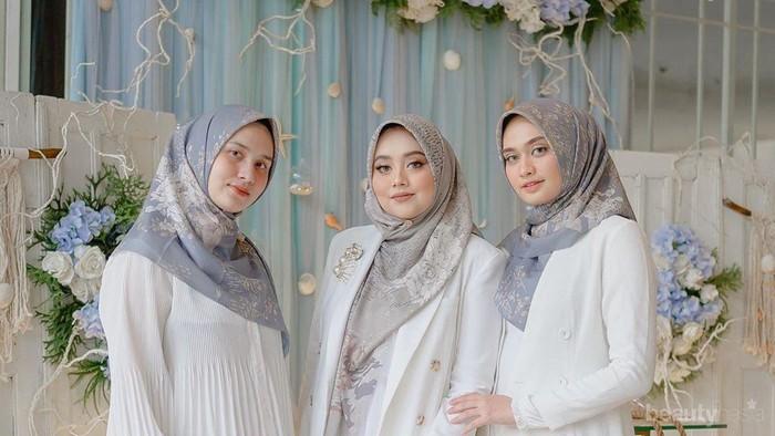 Dear Hijabers, Padu Padan Busana Warna Putih Ini Gak Membosankan dan Elegan!