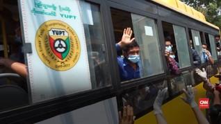 VIDEO: Myamar Bebaskan 25 Ribu Napi Cegah Corona