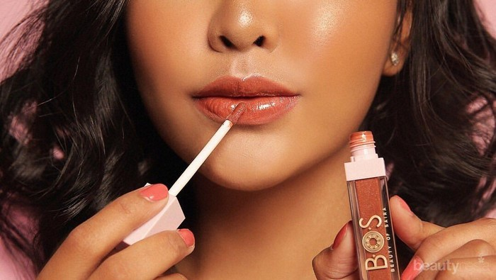5 Warna Glossbabe Lip Gloss dari Beauty of Saira, Bibir Segar dan Plumpy Seharian!