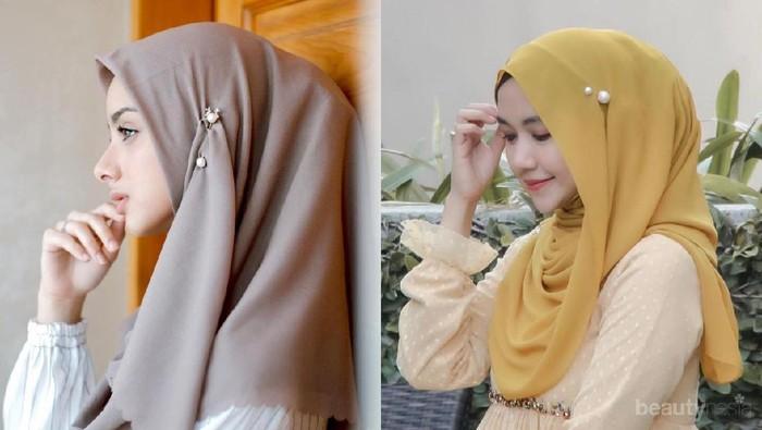 5 Tips Memakai Tuspin Mutiara agar Hijab Terlihat Lebih Elegan