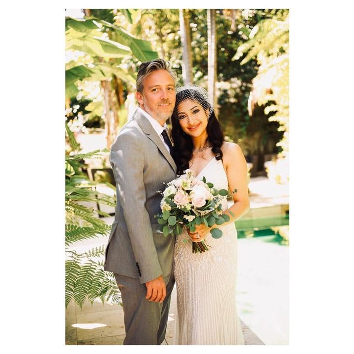 Pernikahan Rahma Azhari di AS