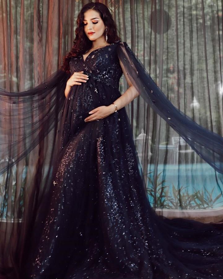 Tasya Farasya maternity shoot