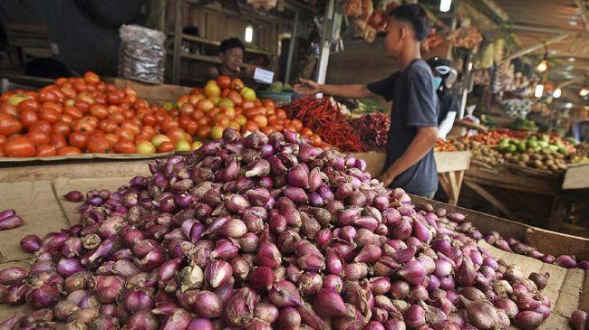 Bank Indonesia memperkirakan tingkat harga deflasi 0,03 persen pada Juli 2020. Hal itu salah satunya dipengaruhi oleh penurunan harga bawang merah.