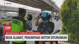 VIDEO: Boncengan Beda Alamat, Penumpang Motor Diturunkan