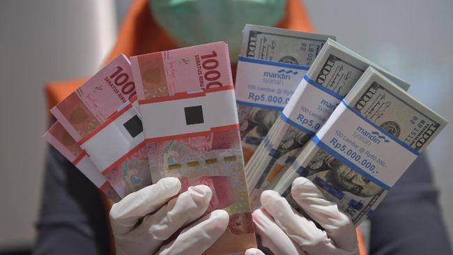 Rupiah melemah 0,27 persen ke posisi Rp14.625 per dolar AS pada perdagangan Jumat (7/8) sore karena kekhawatiran di pasar keuangan meningkat.