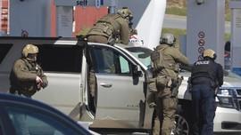FOTO: 16 Orang Tewas dalam Aksi Penembakan di Kanada
