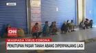 VIDEO: Penutupan Pasar Tanah Abang Diperpanjang Lagi