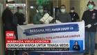 VIDEO: Dukungan Warga untuk Tenaga Medis